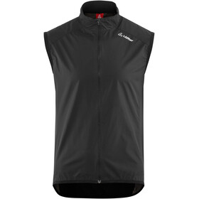 Löffler Windstopper Active Bike Weste Herren schwarz